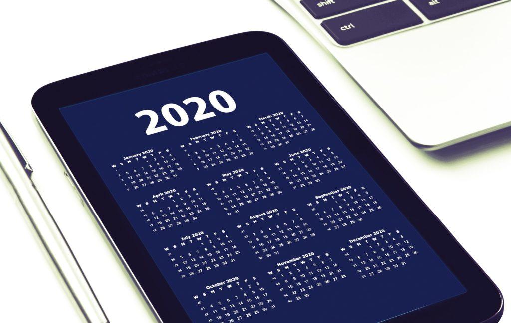 「月齢カレンダー2020」1月25日~2月23日版