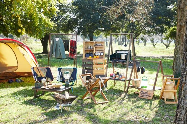 「自宅キャンプ」でGWの楽しみを取り戻そう! 木のぬくもりを感じるDIYアイテムが揃う キャンプ用品店「モロックヴィレッジ」が楽天市場にオープン